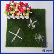 First hand factory wholesale crystal cake stand for wedding