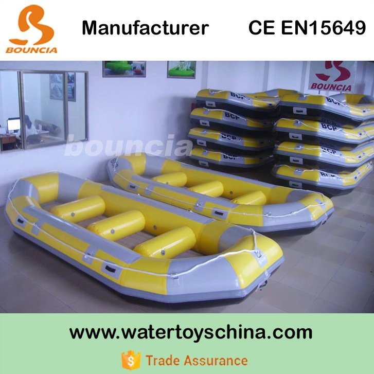 Commercial Grade Inflatable Drift Boat, White Water Raft For River
