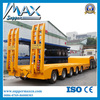 Low Bed Trailer For Transport Heavy