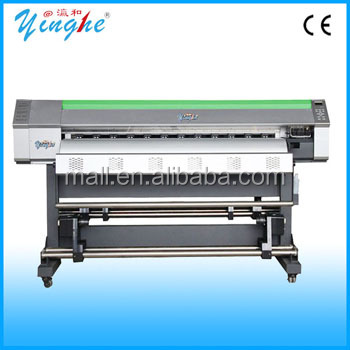 industrial inkjet plotter / commercial inkjet printer/1.6m inkjet plotter for banner,knife coated paper