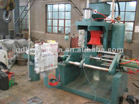 cold box sand shell core machine for oil cylinder casting