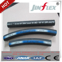 wire spiraled hydraulic hoses rubber hoses SAE 100R13 1'' smooth cover