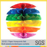 2015 Wedding Souvenirs Tissue Paper Honeycomb Ball/souvenir items for birthday manufacture