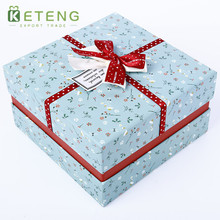 Wholesale custom made outdoor christmas decoration gift boxes