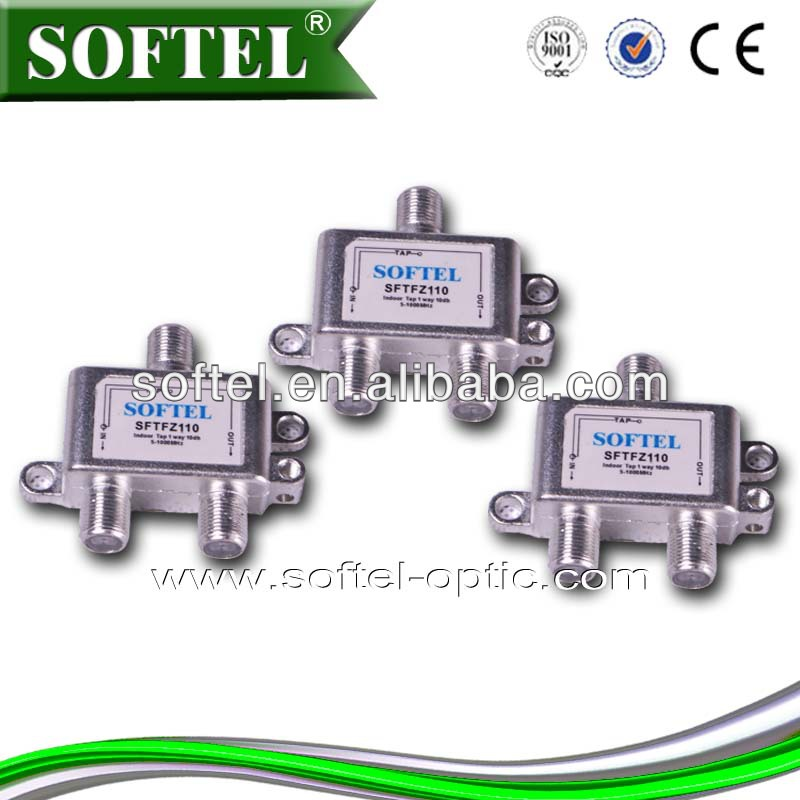 [Softel]2 Way Catv Splitter And Tap For Cable Tv