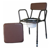 RJ new aidapt Height Adjustable Stacking Commode chair