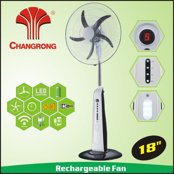 2016 new rechargeable 12v dc air cooler fan