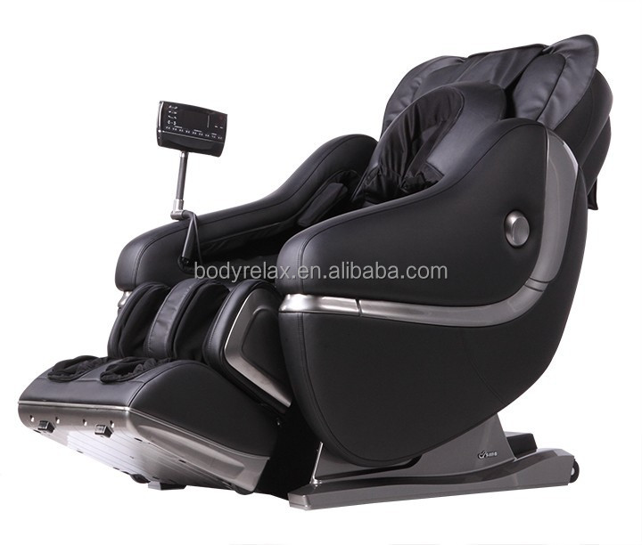 Best massage chair for OEM with 3D zero gravity, foot roller, full arm massager and head massager