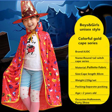 Custom printed decorative kids halloween costumes