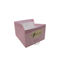 Italy hot selling cake paper bag for 12 cup-cakes