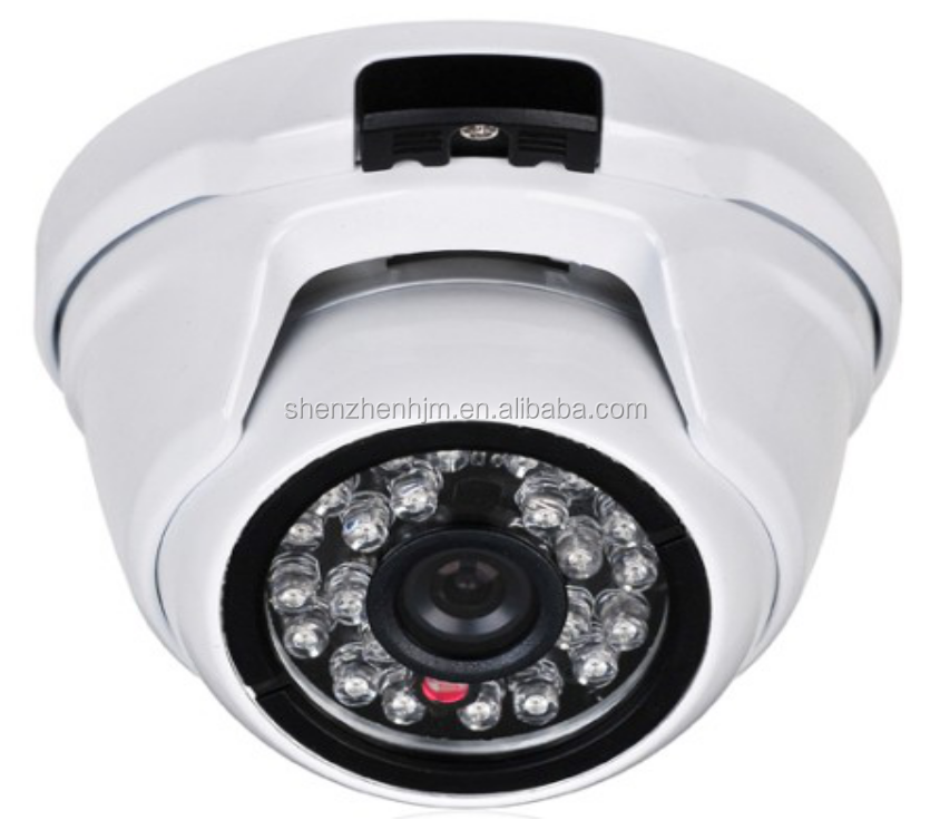 Anti- water proof Dome hidden ip camera 960HD 1.3M CMOS HD IP Camera 30FPS with 24 pcs leds