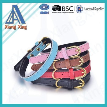 New design cheap plain pet products comfortable dog collar