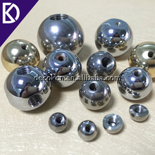 Tapped 6mm 8mm 10mm 12mm 16mm AISI304 stainless steel threaded metal ball with M3 hole
