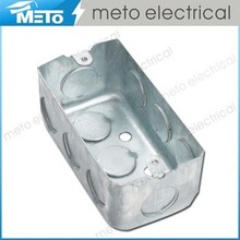 METO galvanized electrical pvc underground electrical junction boxes