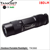 powerful emergency 18650 battery outdoor portable led torch