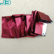 Anti-scratch high reflecive metallized pet film quality matt vmpet colored for Candy Packing films