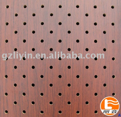 acoustic perofroated panels for outdoor