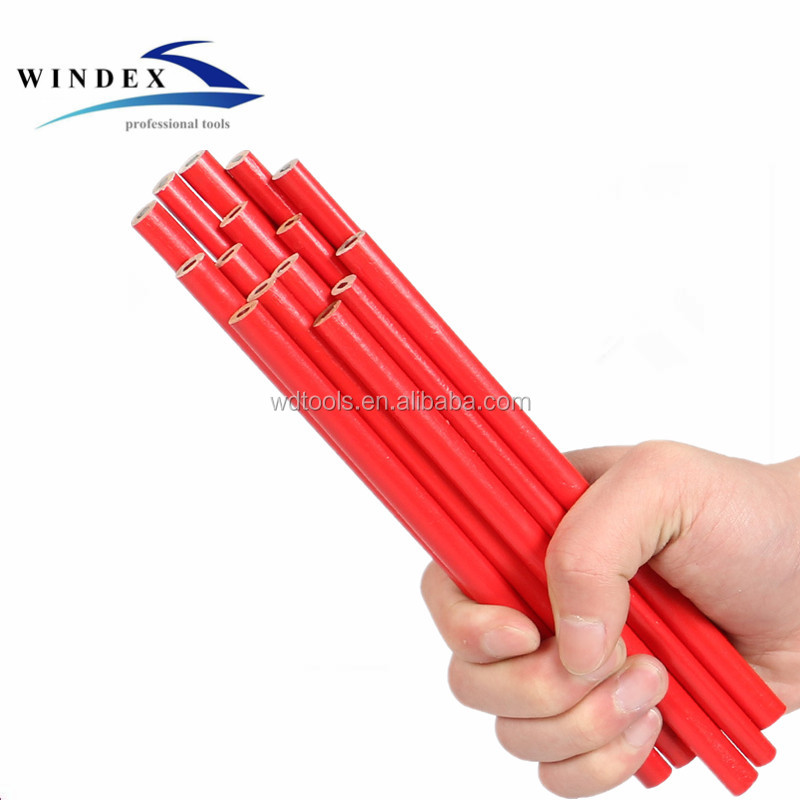 high quality 7inch wooden jumbo Carpenter Pencil