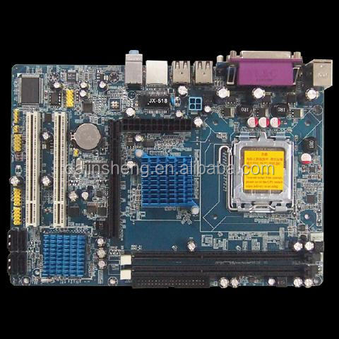 Factory offered, types of computer motherboard socket 775 4xSATA 3Gb/s 2*DDR3, supported DDR3 Ram G41