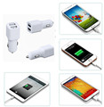 Hot Sale Micro Mobile Phone Double 5V 1A 5W Car Charger Usb,Dual Usb Car Charger