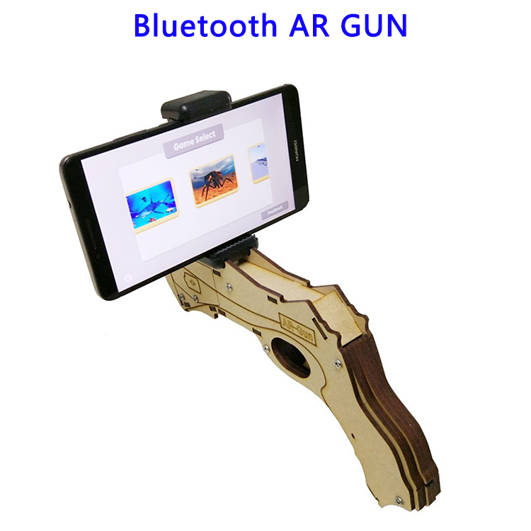 Wholesale Price Augmented Reality OSB Wood Bluetooth AR GUN