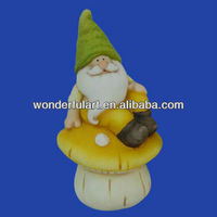 ceramic garden gnome