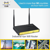 F3A34 Industrial Wireless Wifi rs232 4g modem rj45 VPN Sim Card for Power Distribution Network Supervision m