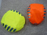 High Visibility Hi Vis reflective Waterproof Bike Bicycle Cycle Helmet Rain Cover