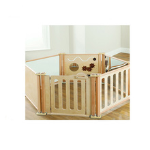 High Density Outdoor Furniture Large Wooden Playpen For Babies
