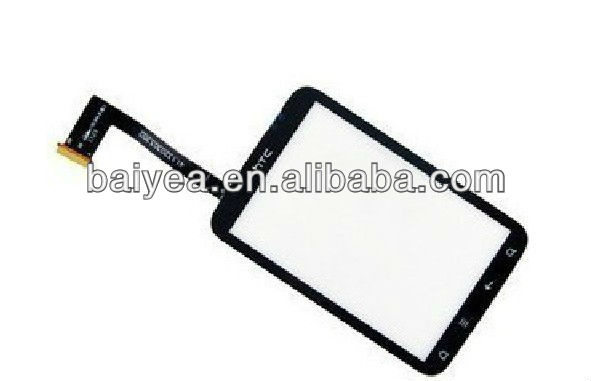 Oem new for HTC Wildfire S G13 A510E touch screen digitizer front panel lens replacement
