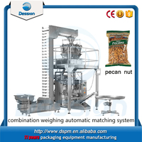Automatic weighing food pecan nuts packaging machine