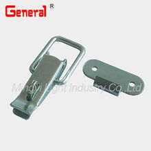 With padlockable catch, draw latch, tool box latch and toggle latch made of steel