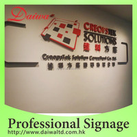 Special Laser die cut logo & Words Acrylic Signage