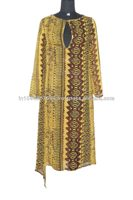 Designer Prints Long Kaftan, Kaftan Dress