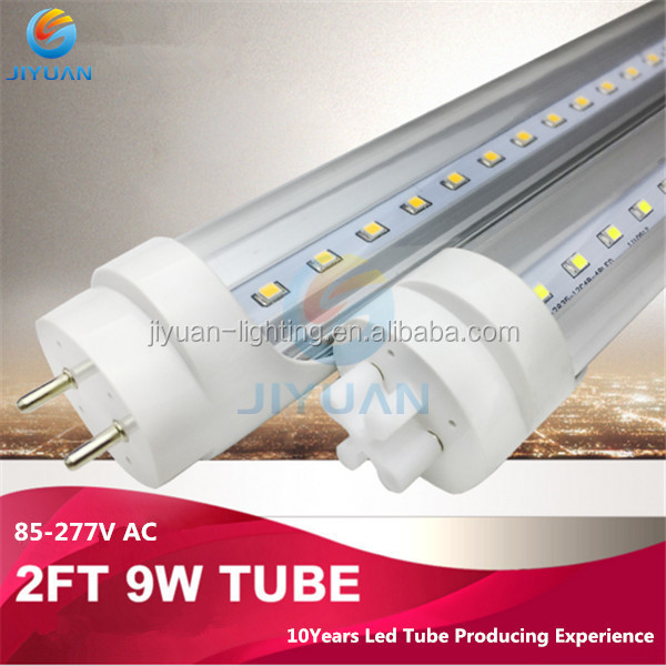 CRI80 free sample 130 lux 18w PC light birch with ce rohs iec t8 motion sensor led tube light