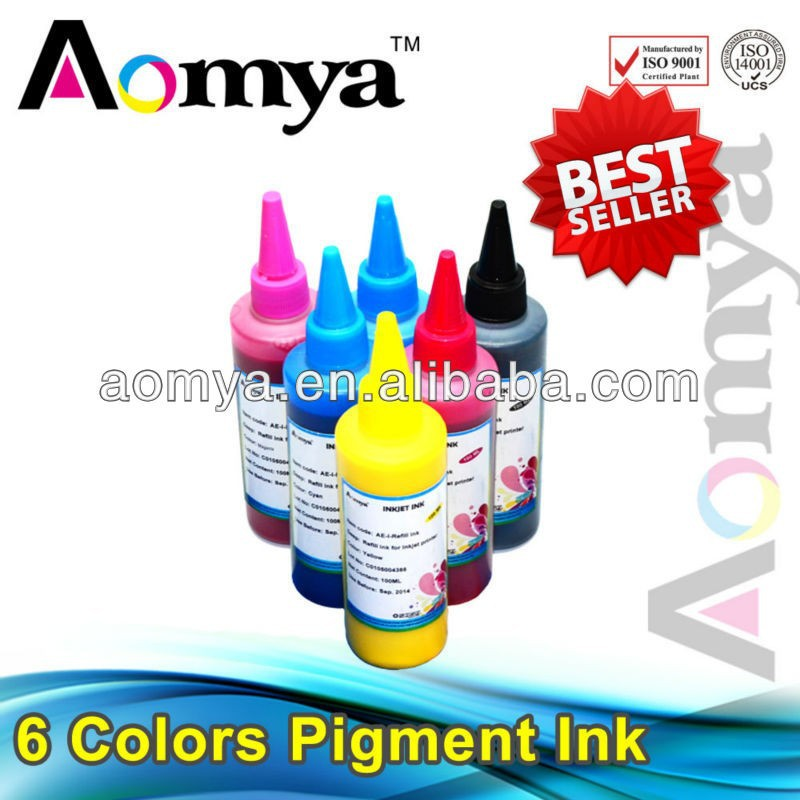 China manufacturer!hot sale waterproof inkjet printer ink printing ink for hp 951 pigment ink