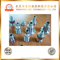 turning parts aluminum connect light with high quality
