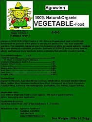 Organic Fertilizer - Agrowinn Vegetable Food