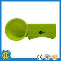 Mini silicone portable horn speaker ,high quality stand for iphone