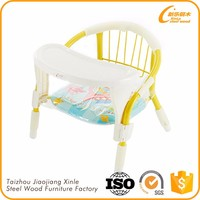 Not adjustable OEM children chair baby plastic chair
