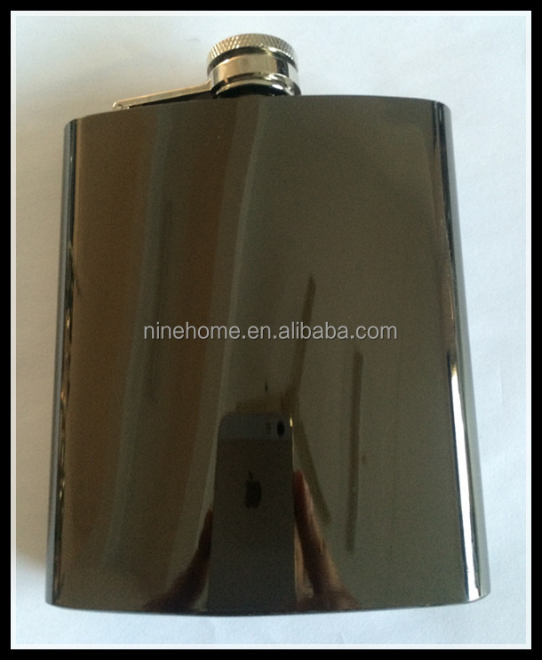 FDA 12oz coppering finish stainless steel hip flask
