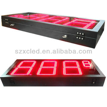 16 inch double face Oil price LED display