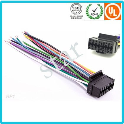 custom wire harness for jvc 16 p stereo iso radio wire harness buy jvc 16p radio wire harness