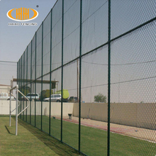 Chinese supplier vinyl coated chain link fence panels post diameter sale price
