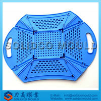 Injection Amp Plastic Folding Fruit Basket