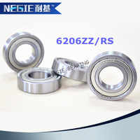 China supplier Cixi Negie factory made high speed precision 6206 motorcycle crankshaft bearings