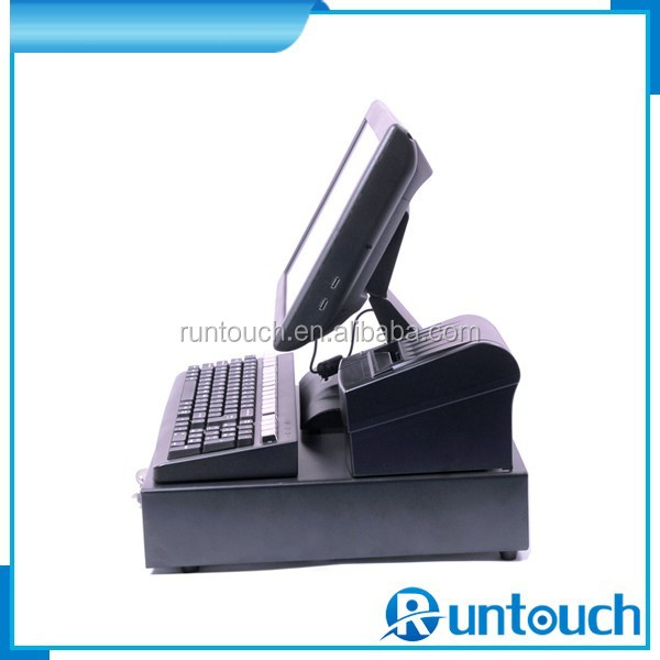 Runtouch RT-6800A Retail POS Package All-In-One Restaurant/Bar POS COMPLETE CASH REGISTER TOUCH SYSTEM 2 Station