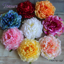 Wholesale Cheap Wedding Wall Use 16CM Large Peony Flower Head for Wall Decoration