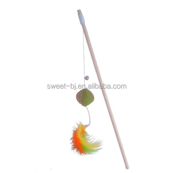 2015 New Design Cat Dangler With Mouse Toy and Catnip, Cat Teaser