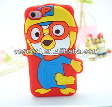 New Cute 3D cartoon soft silicone back Case cover skin for Apple iPhone 5 5S case